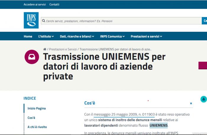 Uniemens: i nuovi codici contratto da Maggio e Aprile 2021